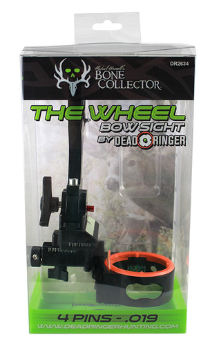 Dead Ringer The Wheel Bow Sight -4-.019 Pins Bone Collector DR2634