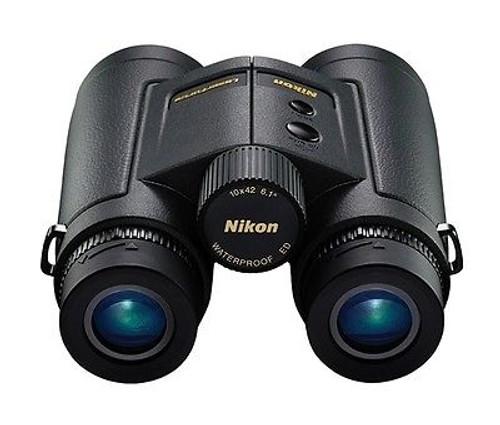 Nikon LaserForce Hunting Laser Rangefinder Binocular 10x42 10-1900 Yards