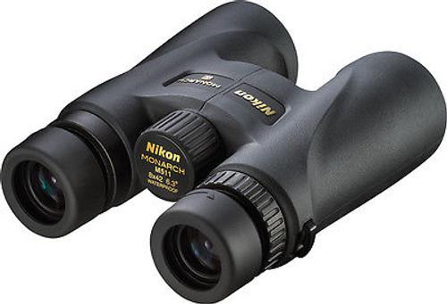 New Nikon Monarch 5 10x42 Compact Binoculars 100% Waterproof Model #7577