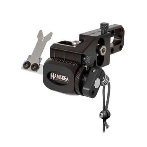 Hamskea Archery Hybrid Target Pro Micro-Tune Arrow Rest LH Black 210082