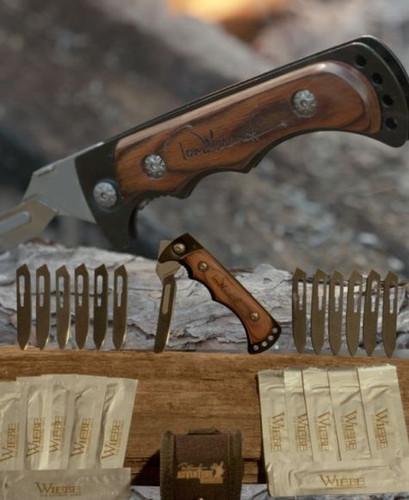 Tom Miranda Signature Series Wiebe Caping Scalpel The Vixen Folding Knife 24 bld