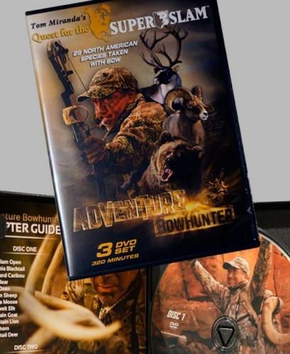 Tom Miranda's Quest For the North American Super Slam 3 Dvd Set Autographed  #SW9222