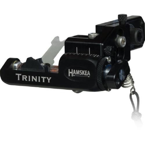 New Hamskea Archery Solutions Trinity Target Pro Micro-Tune Left Hand Black Limb Driven Rest
