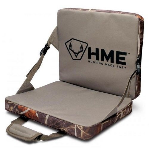 HME Folding Seat Cushion Weather Resistant Camo