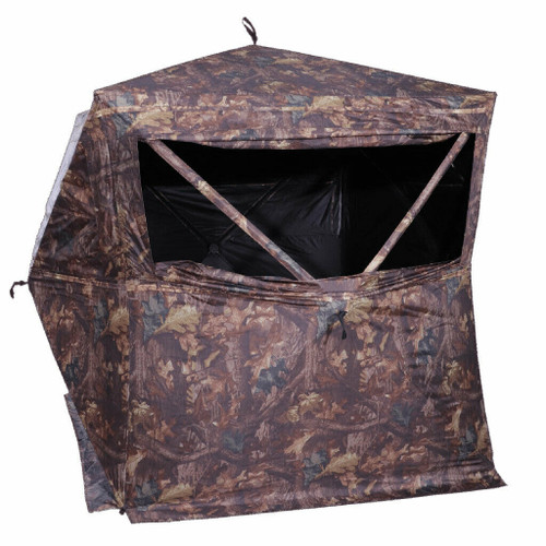 HME Products 3-Person Pop-Up Hunting Ground Blind Camo