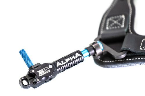 New B3 Archery Alpha Buckle Strap Release Aid w/ Swivel Stem Connector- Black
