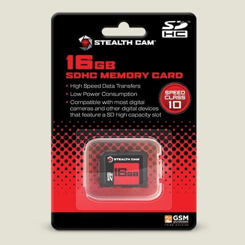 New Stealth Cam 16 GB Speed Class 10 SD Card