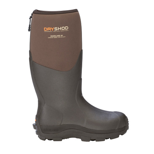 New Dryshod Overland Men's Hi Premium Outdoor Sport Boot Khaki/Timber