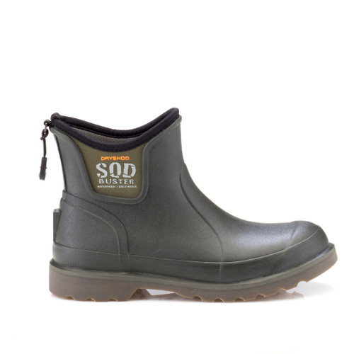 Sod Buster Men's Ankle Boot Moss/Grey