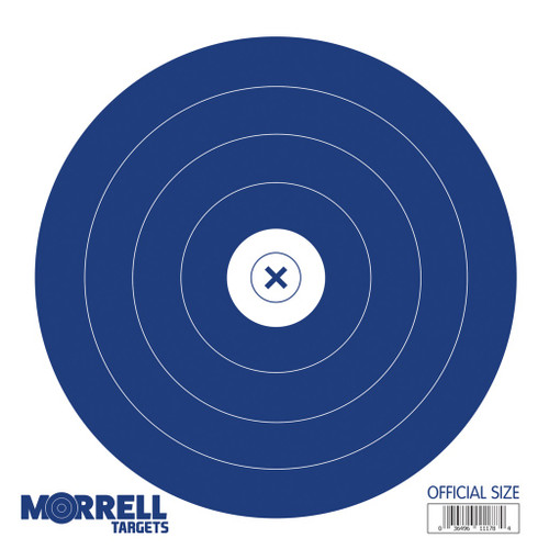New Morrell Targets Single Spot Paper Archery Target Faces 100 PACK