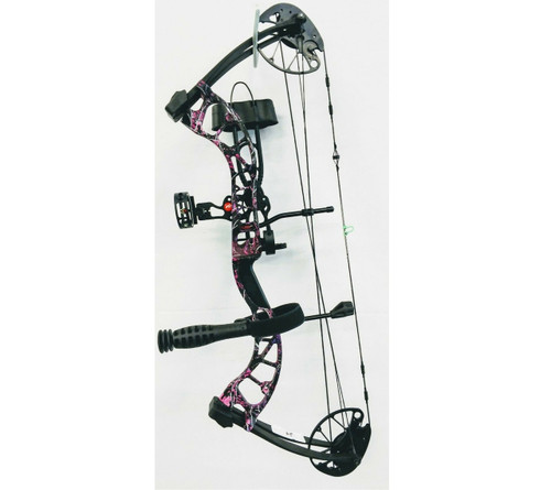 New 2019 PSE Uprising RTS Bow Package 50# LH Muddy Girl Camo