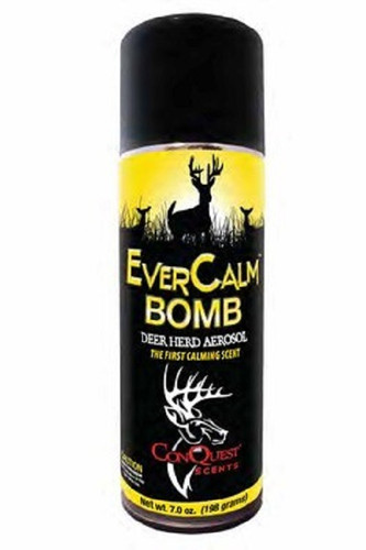 New Conquest Scents Ever Calm Bomb Deer Herd Aerosol Spray Can 7oz.