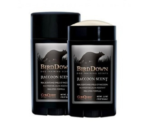 New Conquest Scents Bird Down Raccoon Dog Training Scent