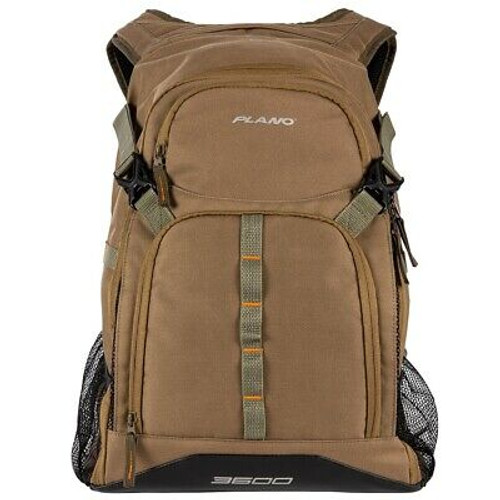 New Plano E-Series 3600 Tackle Backpack Olive Model# PLABE621