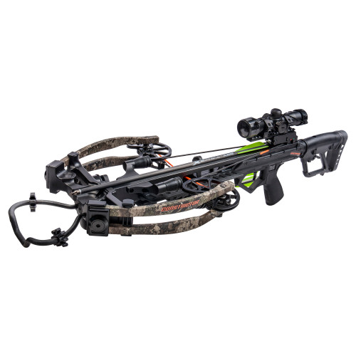 New Bear Archery BearX Constrictor CDX Crossbow RTH Package 410 FPS True Timber Strata Camo