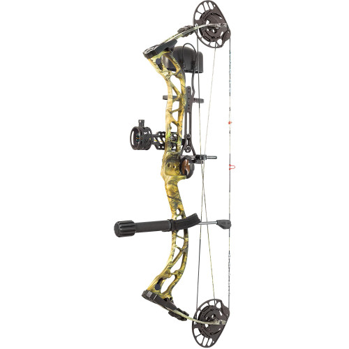 New PSE Archery Brute NXT RTS Package Right Hand 70# Mossy Oak Country Camo
