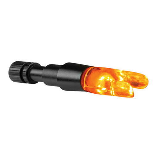 "New Cleanshot Contender Lighted Orange ""S"" Nock for .244"" ID Arrows 6 Pack"