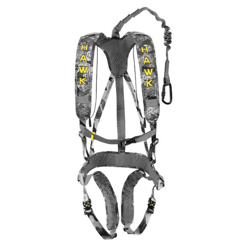 New Hawk Elevate Lite Treestand Safety Harness Model # HWK-HH200