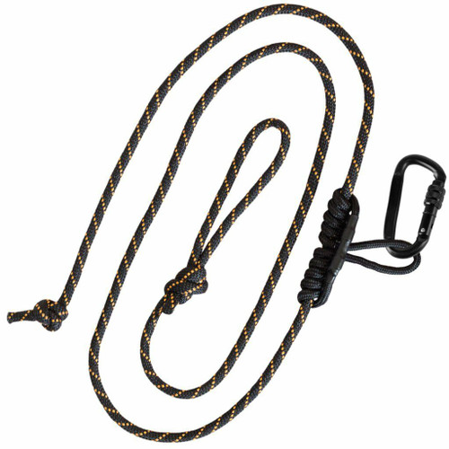 New Muddy Outdoors The Safety Harness Lineman's Rope with Prusik Knot + One-Handed Lockable Carabiner Combo