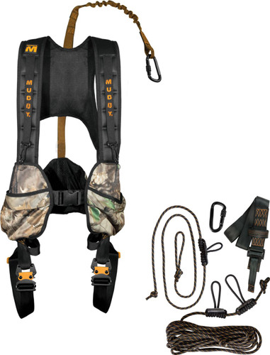 New Muddy Outdoors Crossover Combo Treestand Harness Size Large