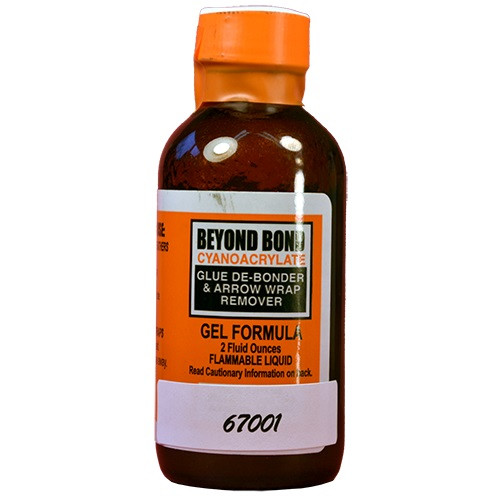 New Steel Force Beyond Bond Glue Gel Debonder 2 oz Bottle
