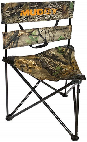 New Muddy Outdoors Folding Tripod Ground Seat for Box Blind or Ground Blind