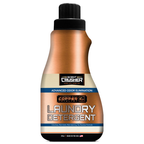 New Scent Crusher Scent Eliminating Laundry Detergent 24 oz Model