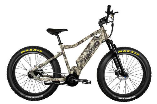 New Rambo Electric Mountain Bike The Bushwacker 750W XPC TrueTimber Viper Western Camo