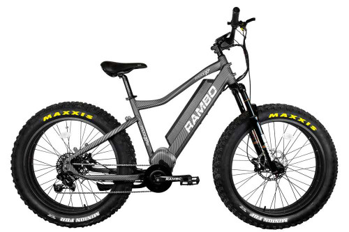 Rambo Electric Mountain Bike The Rebel 1000W XPS Carbon Fiber Bike