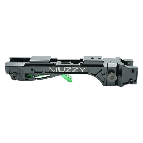 Muzzy Bowfishing LV-R Reel Seat Black And Green