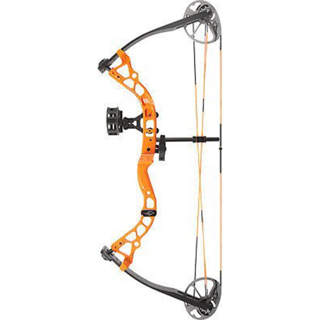 Diamond Archery atomique Youth Compound Bow Pkg 6-29# Droitier Orange