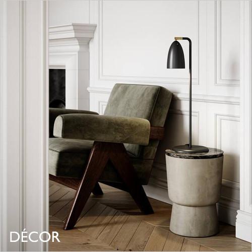 Nexus 2 - Black Modern Designer Desk Light - Contemporary Minimalist Design for a Study, Workspace, Bedside, Lamp Table & Living Room. DFTP