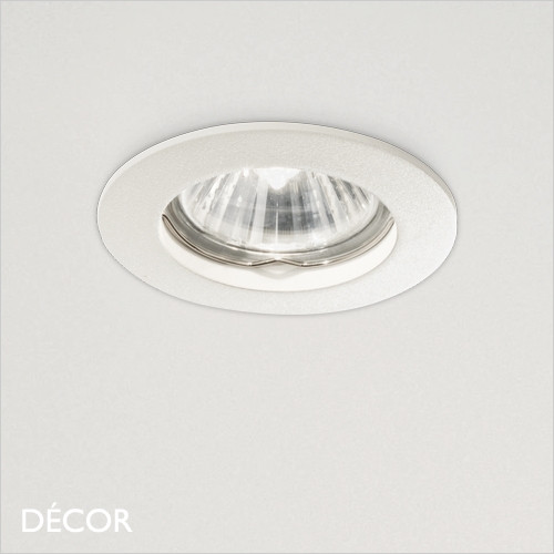 Jazz - White Modern Designer Recessed Ceiling Downlight/Spotlight - Stylish Italian Design For Any Contemporary Space. Perfect for Home & Business