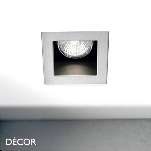 Funky - Aluminium Modern Designer Recessed Ceiling Downlight/Spotlight - Minimalist Design For Any Contemporary Space. Perfect for Home & Business