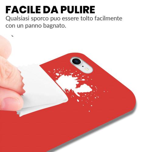 Cover Rossa per iPhone 7 e iPhone 8 di Silicone  riCompro