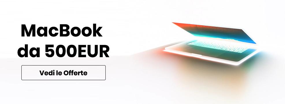 Promozioni per MacBook ricondizionati
