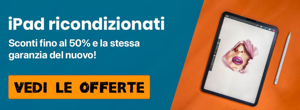 Offerte per iPad ricondizionati