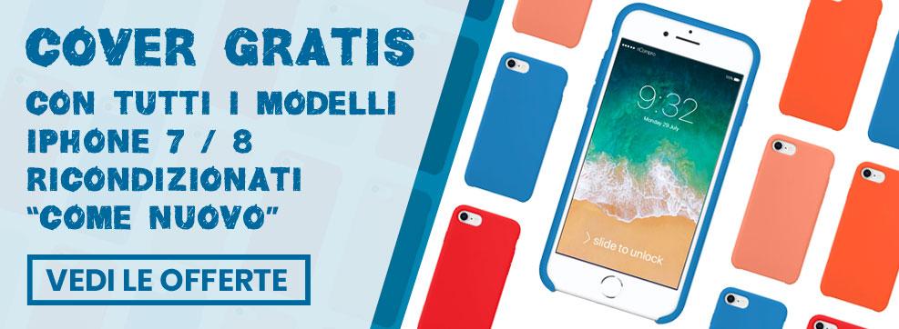 promozione cover gratuiti per iPhone 7 e iPhone 8