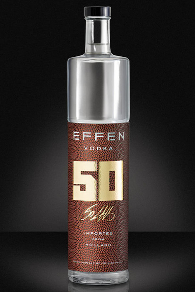 Effen Vodka 50th Anniversary Big Game Edition