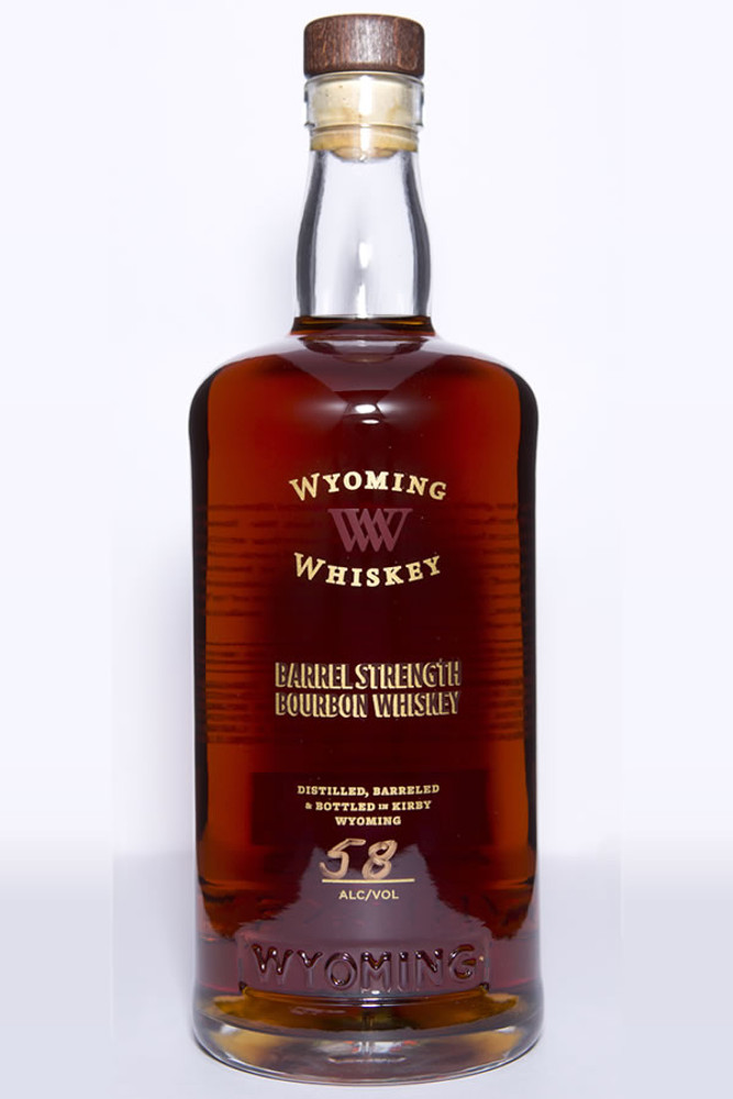 Wyoming Whiskey Barrel Strength Bourbon