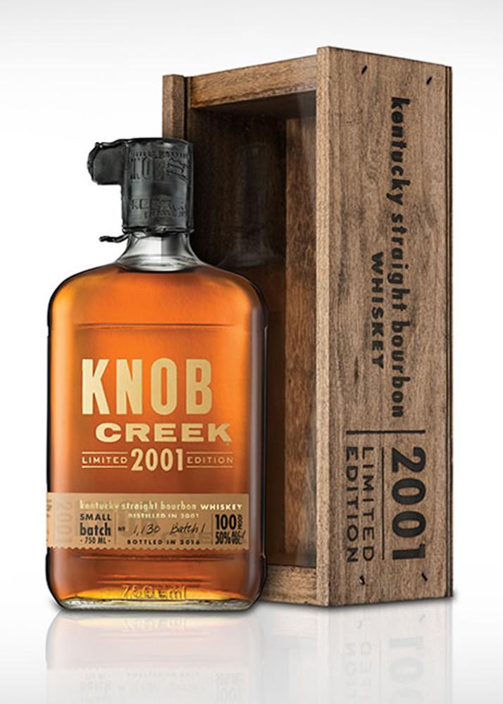 Knob Creek Bourbon 2001