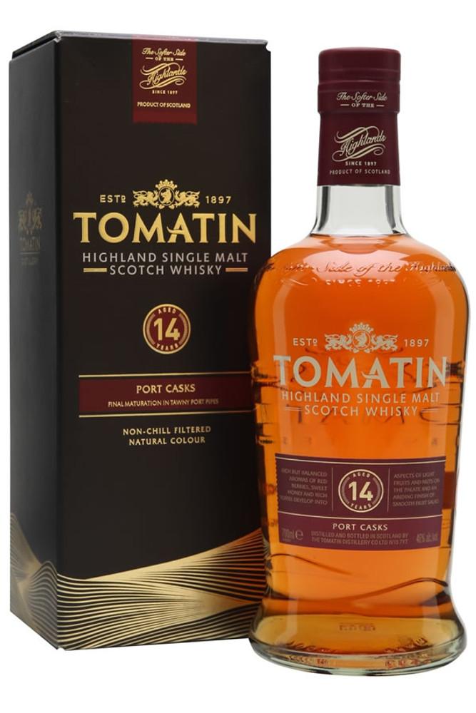 Tomatin 14 Year Port Cask Finish Highland Single Malt Scotch Whisky