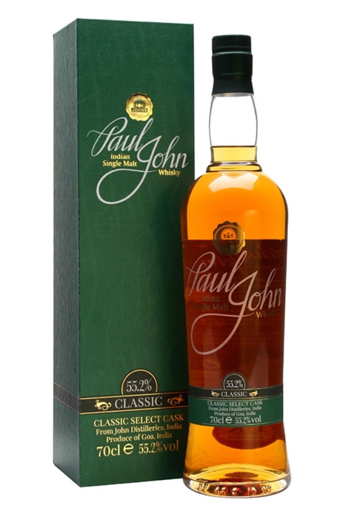 Paul John Classic Cask Strength Indian Single Malt