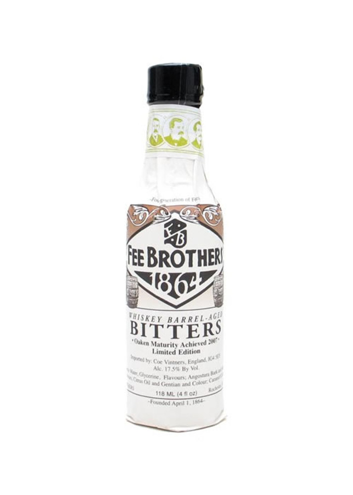 Fee Brothers Whiskey Barrel Aged Bitters