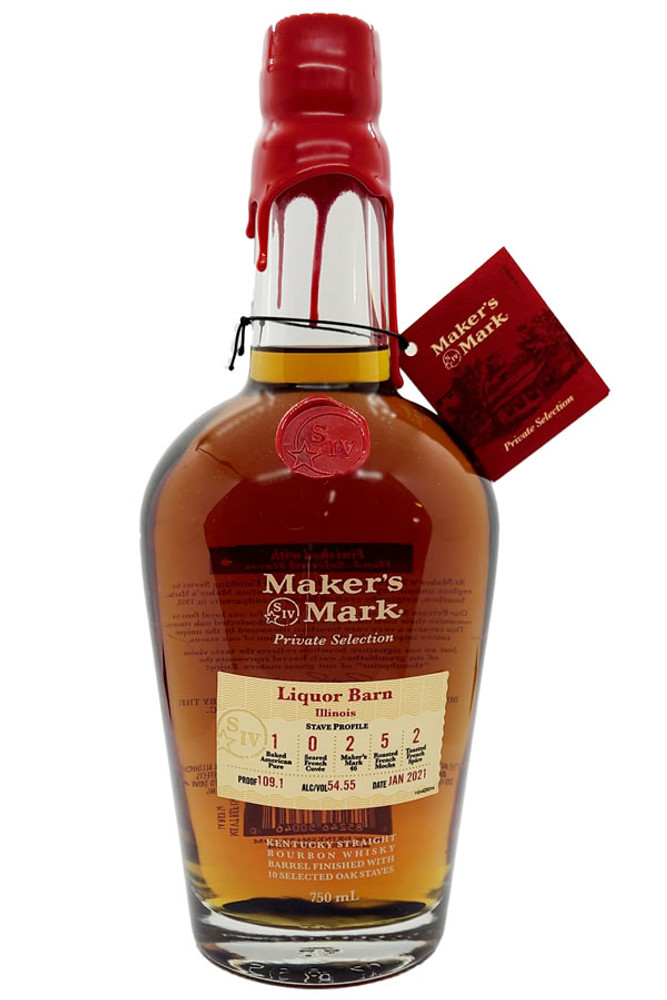 Makers Mark Private Select Bourbon 750ML