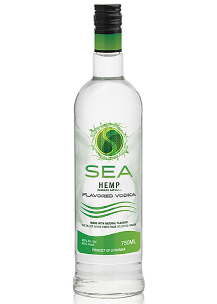 Sea Hemp Vodka