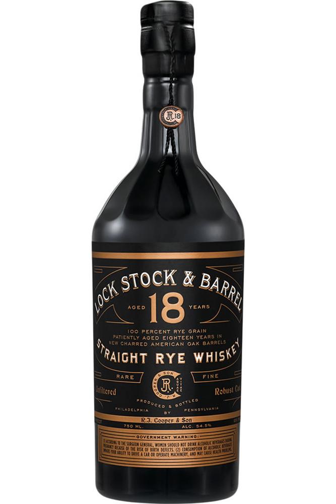 Lock, Stock & Barrel 18 Year Straight Rye