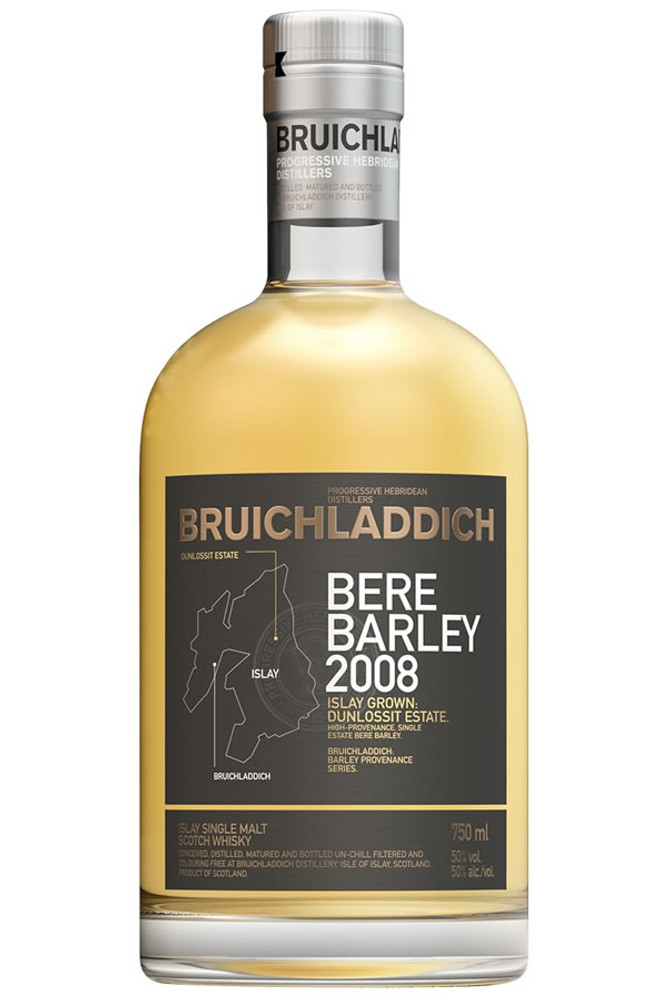 Bruichladdich Dunlossit Estate Bere Barley 2008