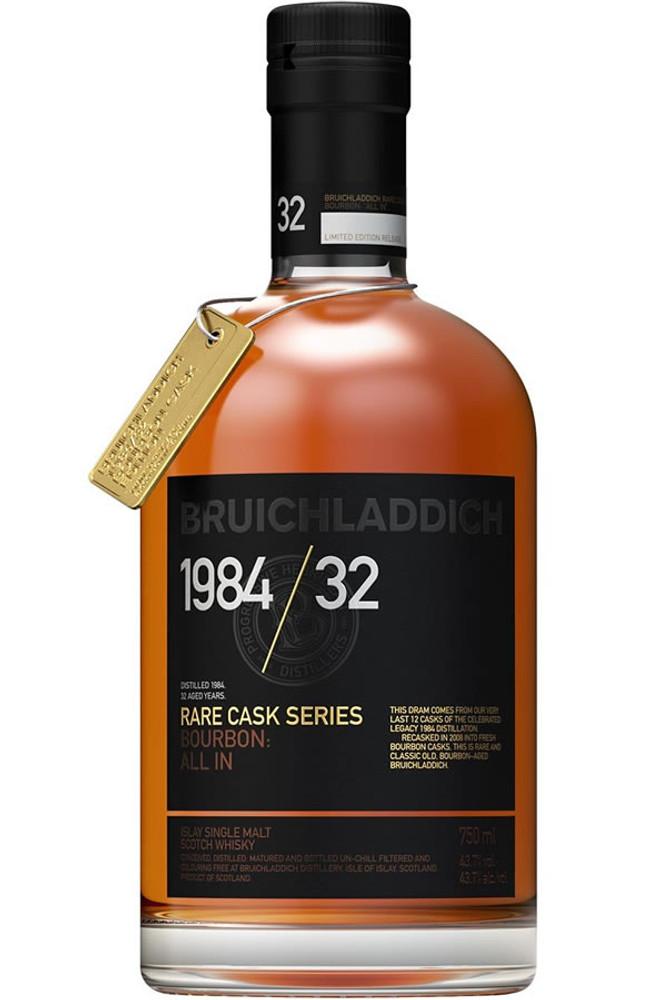 Bruichladdich 1984 32 Year Rare Cask Series