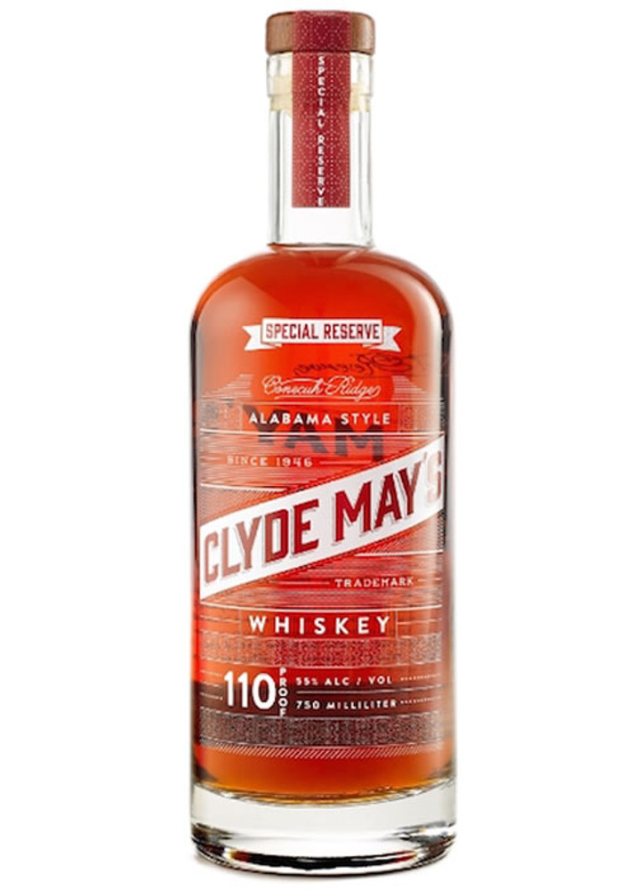Clyde Mays Special Reserve 110 Proof Whiskey